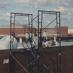 Roof Scafolds For Safety