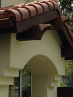 Roof Maintenance: Decorative Wood Corbel Damage | Hoyt Roofs, Inc.