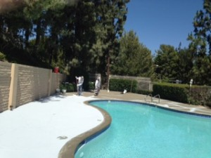 hoa pool deck work