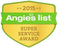 Angie's List Roofers Super Service Award